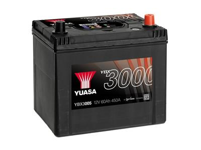YBX3005 12V 60Ah (CCA 450)( +H)