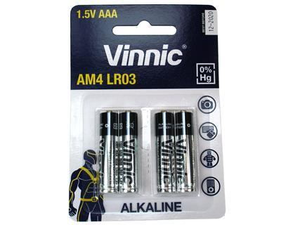 Vinnic AM4-C4 LR03/AAA 4pcs