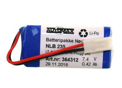 NLB 235 (7,4V-0,42Ah-R-Plugg 24)