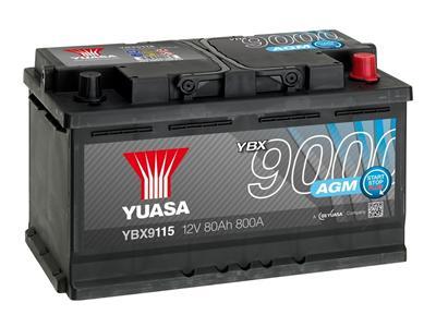 YBX9115 (12V 80Ah 800A)