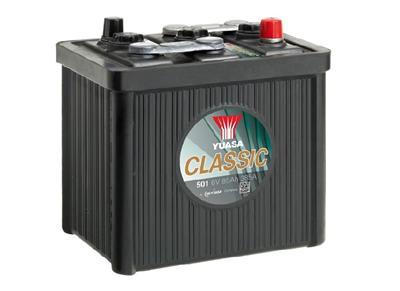 501 6V 85Ah 385A Yuasa Classic Battery