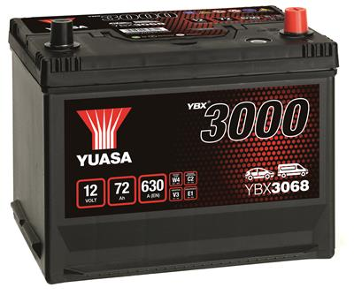 YBX3068 (12V 72Ah)