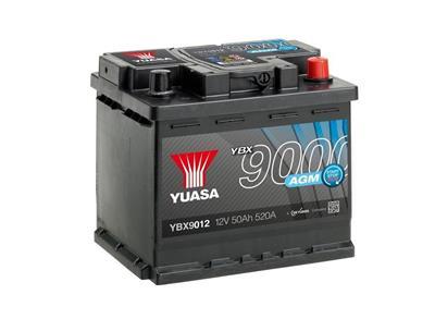 YBX9012 (12V 50Ah 520A)