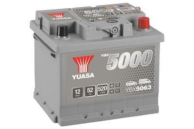 YBX5063 (12V 52Ah)