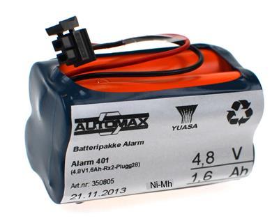 Alarm 401 (4,8V1,6Ah-Rx2-Plugg28)
