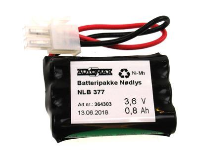 NLB 377 (3,6V0,75Ah-R-Plugg 12)