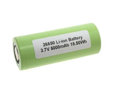 Li-Ion ICR26650 (3.7V-5000mAh)