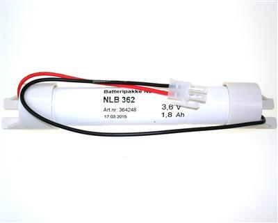 NLB 362 (3,6V-1,8Ah-S-Plugg 12)
