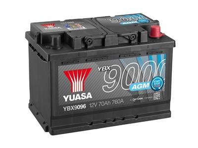 YBX9096 (12V 70Ah 760A)