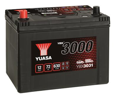 YBX3031 (12V 72Ah)