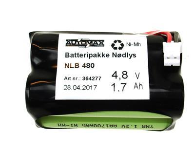 NLB 480 (4,8V1,7Ah-R2-Plugg29)
