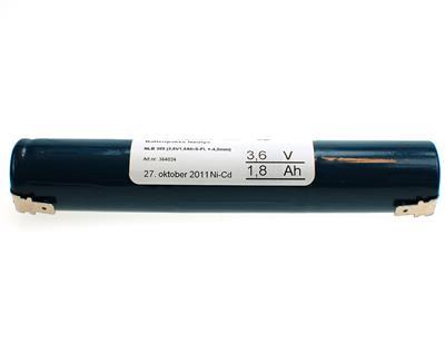 NLB 308 (3,6V1,8Ah-S-Fl.-+4,8)