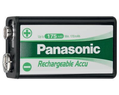 YNM Panasonic 8,4V 180mAh 6F22 (Ni-Mh)
