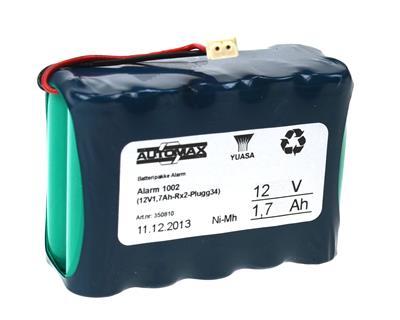Alarm 1002 (12V1,7Ah-Rx2-Plugg34)