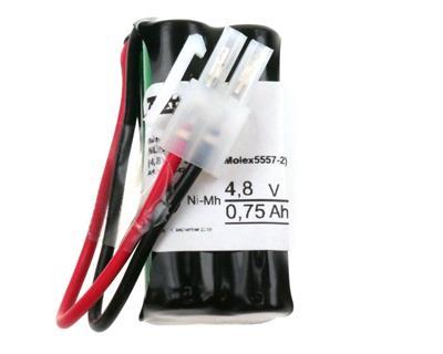 NLB 456 (4,8V0,75Ah-2R-Plugg 12)