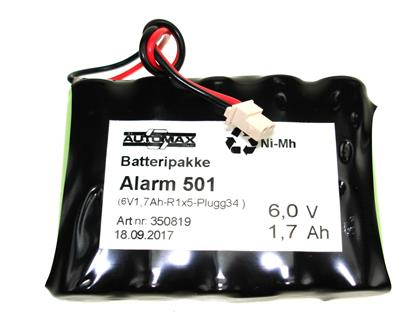Alarm 501 (6V1,7Ah-R-Plugg34 )