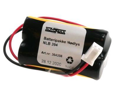 NLB 394 (3,6V1,0Ah-R-trekant-Plugg 24)