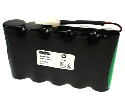 Silva batteripakke 6V-13Ah(F)