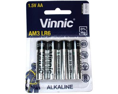 Vinnic AM3-C4 LR6/AA 4pcs