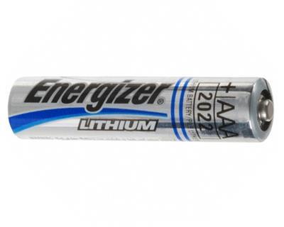Energizer L92 AAA Lithium 1.5 Volt