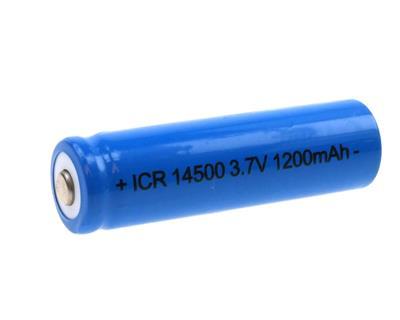 Li-Ion ICR-14500AA (3,7V-1200mAh)