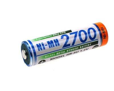 YNM AA 2700 mAh (Ni-Mh)(High Hat)