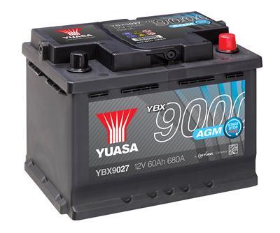 YBX9027 (12V 60Ah 680A)