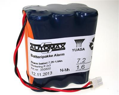 Alarm 601 (7,2V1,6Ah-Rx2-plugg34)