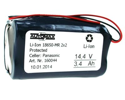 Li-Ion 18650-MR 2x2 (14,8V-3400mAh)