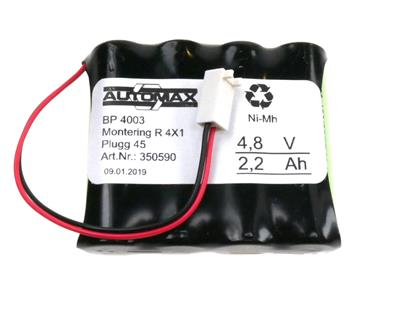 BP 4003 4,8V-2,2Ah MR4x1 Plugg 45