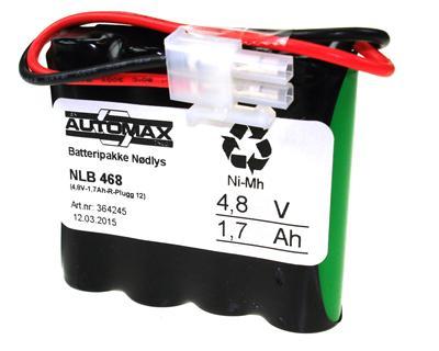 NLB 468 (4,8V1,7Ah-R-Plugg 12)
