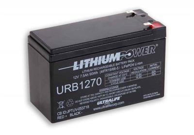URB1270 (12,8V-7,5Ah 96Wh) LiFePo4