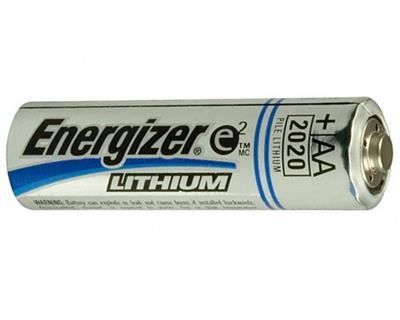 Energizer L91 AA Lithium 1.5 Volt