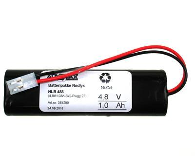 NLB 488 (4,8V-1,0Ah-2xS-Plugg 27)