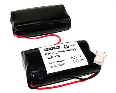 NLB 473 (4,8V1,0Ah-R2-Plugg 34)