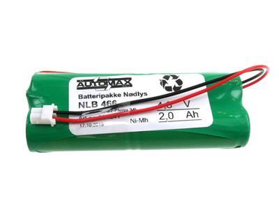 NLB 466 (4,8V-2,0Ah-S2-Plugg 34)