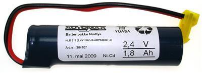 NLB 213 (2,4V1,8Ah-S-Plugg 14)