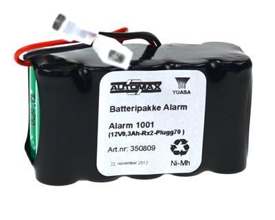 Alarm 1001 (12V0,3Ah-Rx2-Plugg70 )