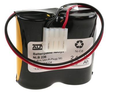 NLB 236 (2,4V4,5Ah-R-Plugg 58)