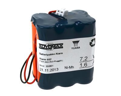 Alarm 602 (7,2V1,6Ah-Rx2-Plugg33 )