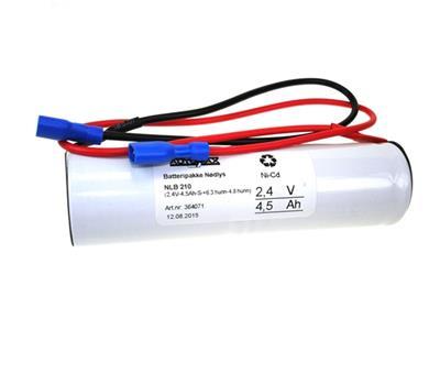 NLB 210 (2,4V-4,5Ah-S-+6,3 hunn-4,8 hunn)