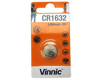 Vinnic CR 1632 Blister card pack