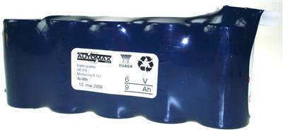 Silva batteripakke 6V-9Ah(D)