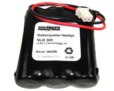 NLB 369 (3,6V-1,7Ah-R-Plugg 34)
