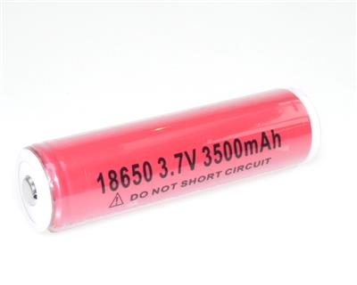 Li-Ion NCR18650BF Protected (3,7V-3500mAh)