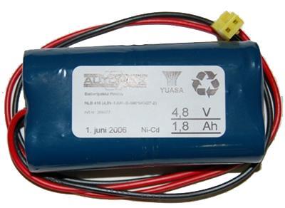 NLB 416 (4,8V-1,8Ah-Sx2-Plugg 14)