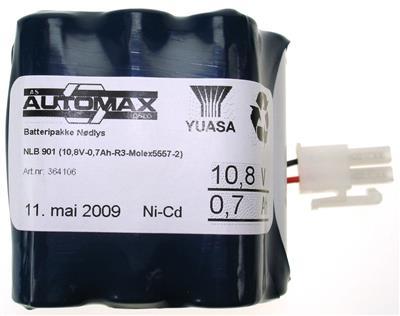 NLB 901 (10,8V-1,0Ah-R3-Plugg 12)