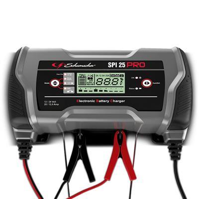 Batterilader SPI16 PRO 12/24V-16/8A multifunksjon