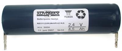 NLB 211 (2,4V4,5Ah-S-Fl.-6,3 +6,3)