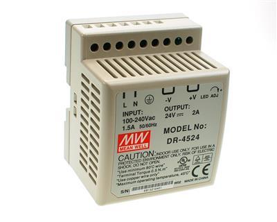 Lader 24V-2A (bly) DR4524